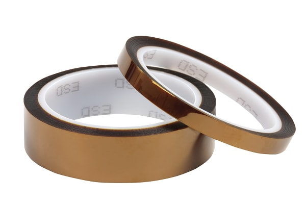 Product image for ANTISTATIC KAPTON TAPE 19MM X 33M