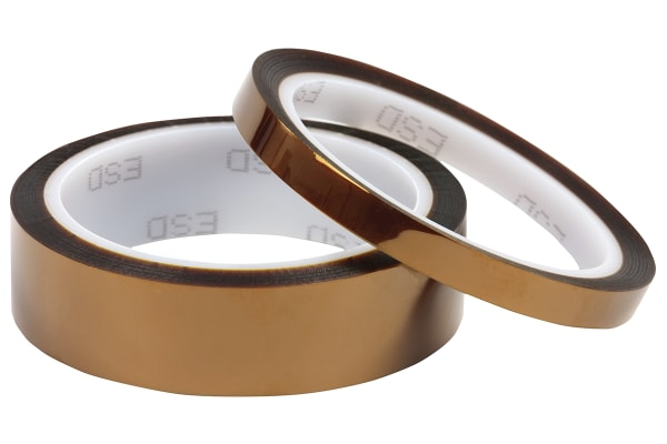 Product image for ANTISTATIC KAPTON TAPE 25MM X 33M