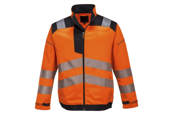 Product image for HI VIS VISION JACKET ORANGE SIZE L
