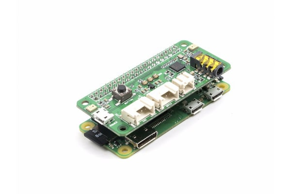 Product image for Seeed Studio 107100001, Dual Microphone Expansion Board for AI and Voice Applications