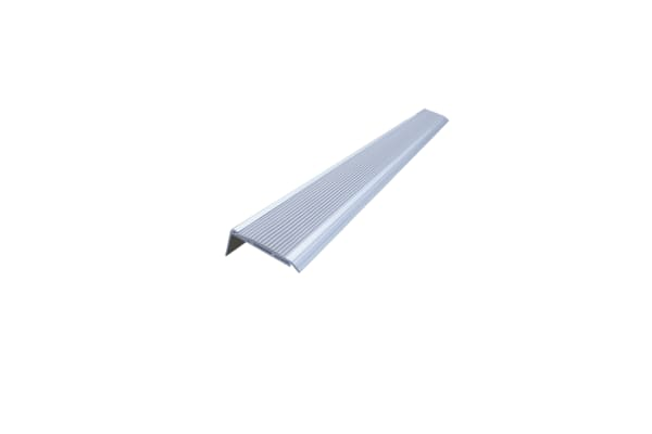 Product image for Non skid alum stairs edge protect grey