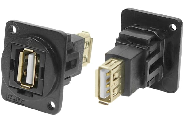Product image for FT BLK METAL USB 2.0 A-A M3