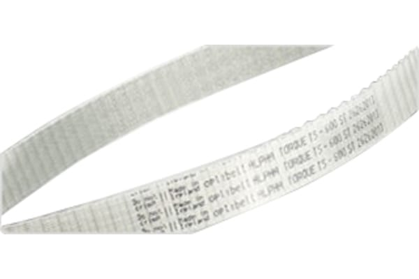 Product image for ALPHA, AT5 TIMING BELT, W16MM, L 375MM