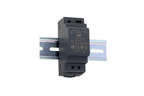 Product image for DIN Rail Power Supply 15V 30W