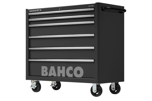 Product image for Bahco 6 drawer WheeledTool Chest, 985mm x 1016mm x 501mm