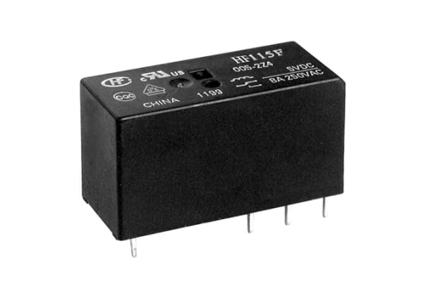 Product image for 12 VOLT COIL, SPDT CONTACTS, FULLY SEALE