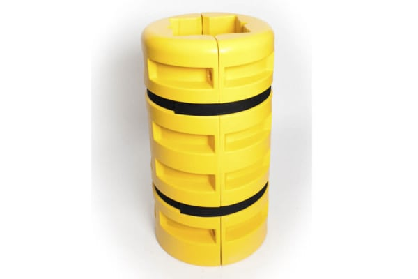Product image for Addgards Black, Yellow Corner Protector,