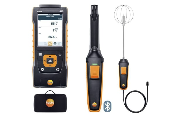 Product image for Testo Testo 440 Data Logging Air Quality Monitor, Battery-powered