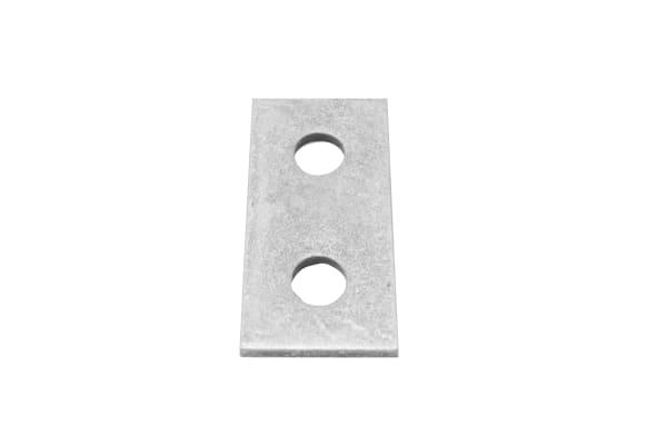 Product image for FLAT PLATE 2 HOLE BRACKET 40 X 84 HDG