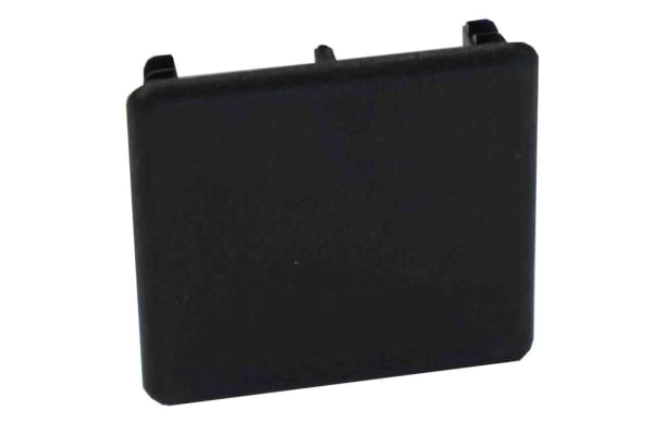 Product image for PVC BLACK END CAPS 41 X 41