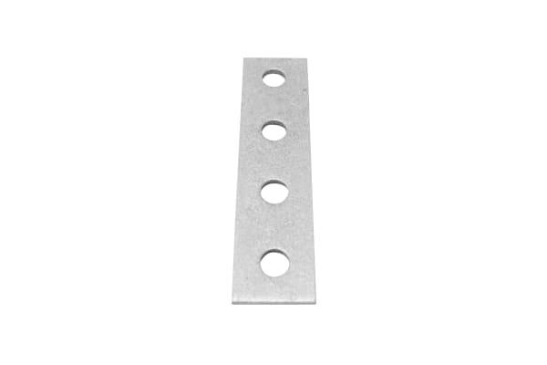 Product image for FLAT PLATE 4 HOLE BRACKET 40 X 168 HDG