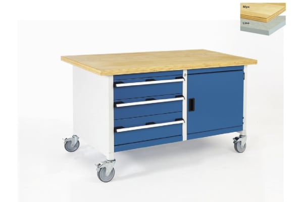 Product image for Bott Steel Work Bench, 1500mm x 750mm x 840mm