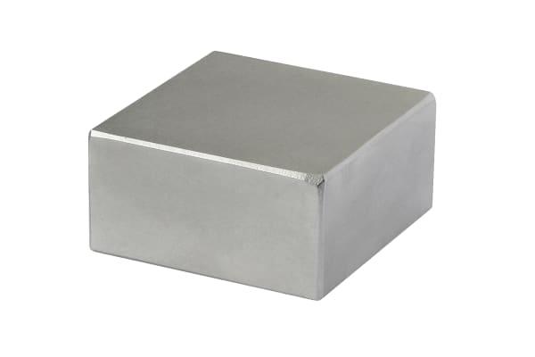 Product image for 10MM X 10MM X 5MM NEODYMIUM BLOCK MAGNET