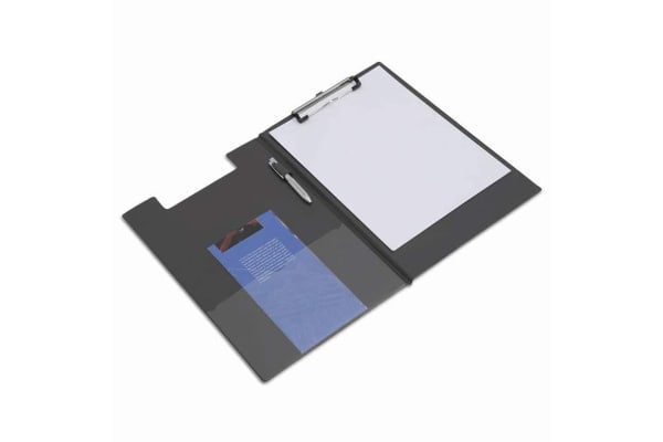 Product image for RAPESCO FOLDOVER CLIPBOARD A4/FOOLSCAP