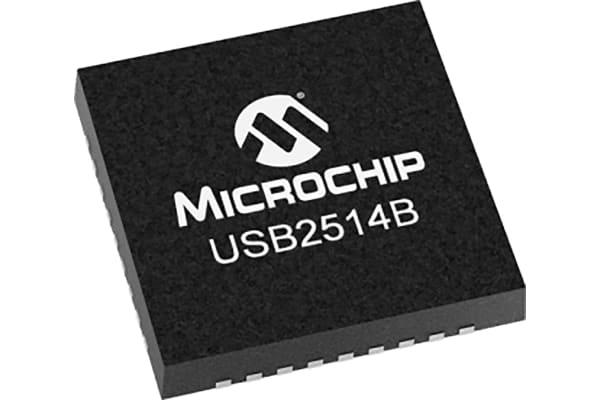 Product image for 4-PORT USB 2.0 HI-SPEED HUB CONTROLLER