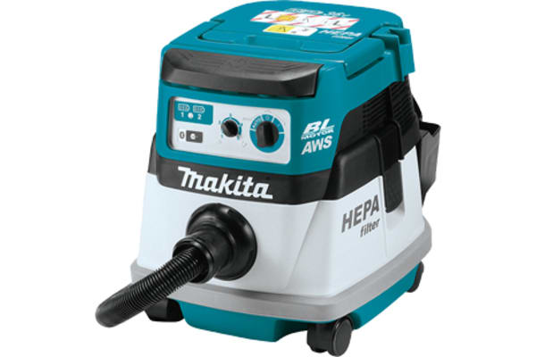 Product image for Makita DVC864LZ 36V, 8 L, Cordless Dust Extractor