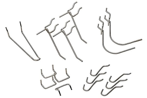 Product image for PACK OF 16 ASSORTED HOOKS TO SUIT WALL P
