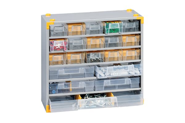 Product image for MULTI-DRAWER METAL COMPACT 33 CABINET (P