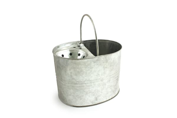 Product image for 3 Gallon Galvanised Mop Bucket