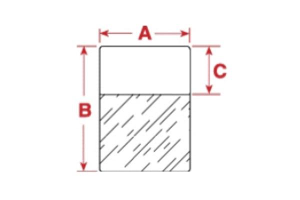 Product image for Brady BPT Thermal Transfer Label Label, For Use With BBP12, BBP11, PR200Plus, PR300Plus, PR600Plus, BP1244, BP1344,