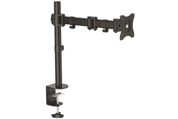 Product image for ARTICULATING MONITOR ARM - STEEL - SINGL