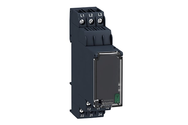 Product image for 3 PHASE CONTROL RELAY RM22-TG - RANGE 18