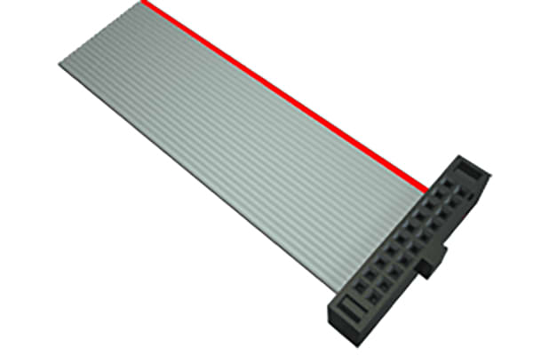 Product image for Samtec FFSD Ribbon Cable Assembly, IDC Socket to IDC Socket, 304.8mm