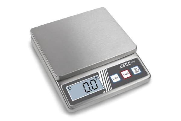 Product image for Kern Weighing Scale, 5kg Weight Capacity Type C - European Plug