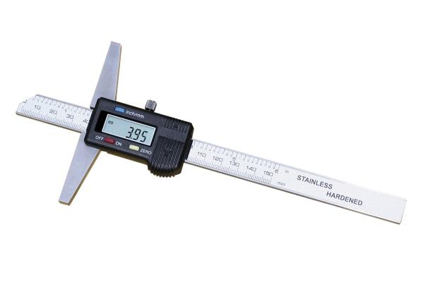 Product image for 0-200mm Digital Depth Gauge w/o hook