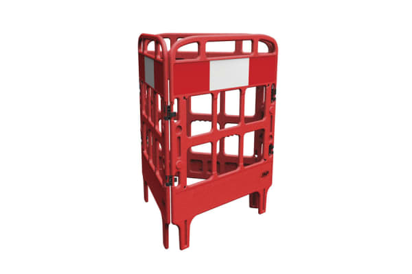Product image for JSP Red Barrier, Foldable Barrier