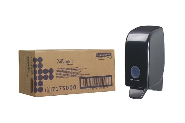 Product image for AQUARIUS CLEANSER DISPENSER BLK 1LTR