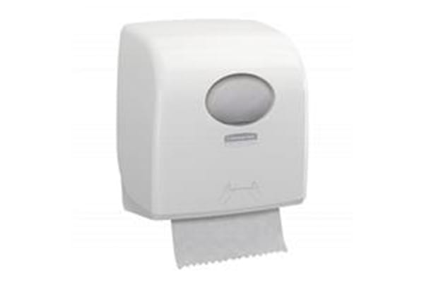 Product image for Kimberly Clark ABS White Wall Mounting Paper Towel Dispenser, 297mm x 192mm x 324mm