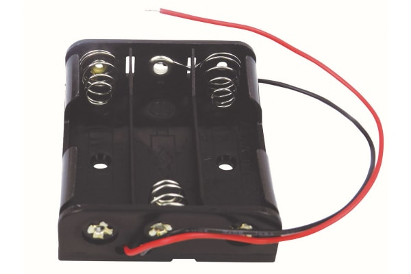 Product image for AA  X 3 WITH LEAD WIRE