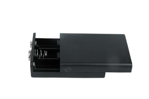Product image for Safety Battery Holder , AAA x 3 with lea