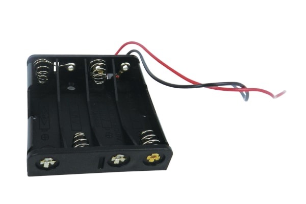 Product image for AAA x 4 with lead wire 150mm
