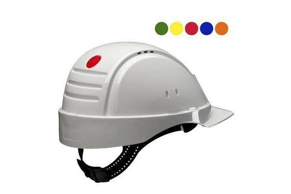 Product image for G2000NUV-VI SAFETY Helmet White Ratchet
