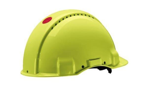 Product image for G3000NUV-GB SAFETY Helmet Hi-Viz Ratchet