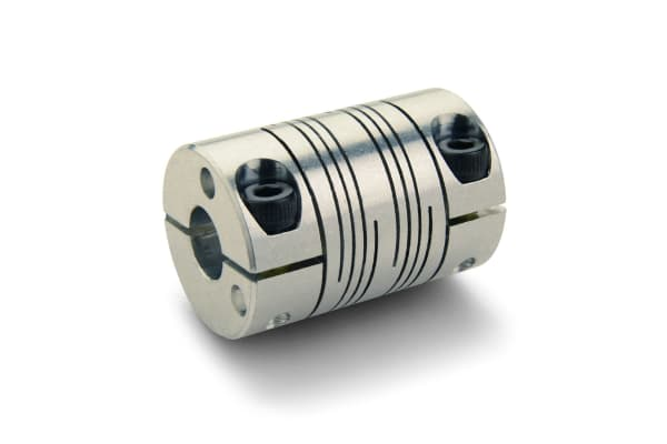 Product image for BEAM COUPLING, SIX BEAMS, BORES 6MMX6MM,