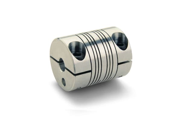 Product image for BEAM COUPLING, FOUR BEAMS, BORES 10MMX10