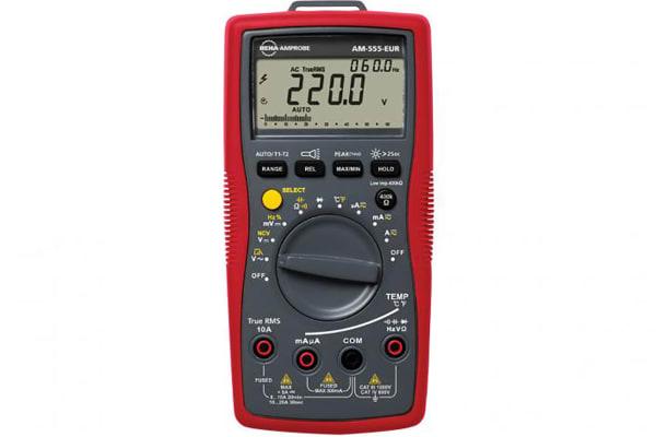 Product image for AM-555-EUR INDUSTRIAL DIGITAL MULTIMETER