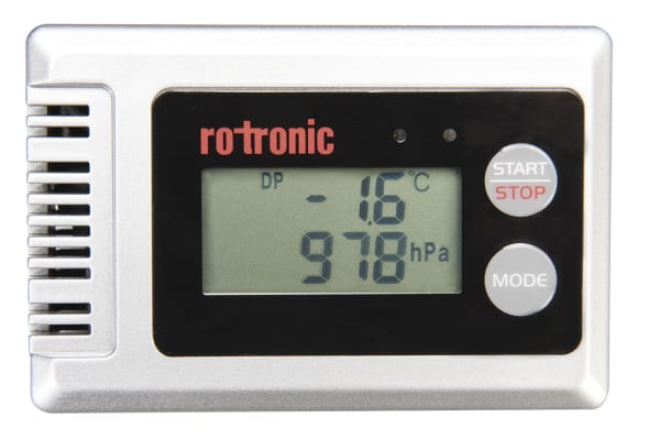 Product image for Rotronic Instruments BL-1D Data Logger for Barometric Pressure, Humidity and Dew Point Measurement