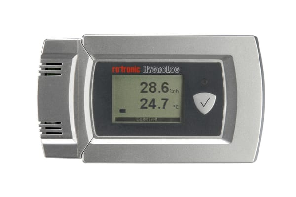 Product image for HIGH ACCURACY ?C / %RH LOGGER.  ACCURACY