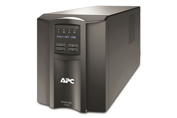 Product image for APC 1500VA Tower UPS Uninterruptible Power Supply, 230V Output, 1kW - Line Interactive