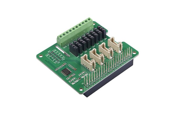 Product image for Seeed Studio, 8-Channel 12-Bit ADC Module, STM32F030 for Raspberry Pi - 103030280