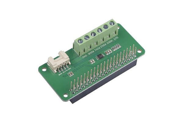Product image for Seeed Studio, 4-Channel 16-Bit ADC I2C Module, ADS1115 for Raspberry Pi - 103030279