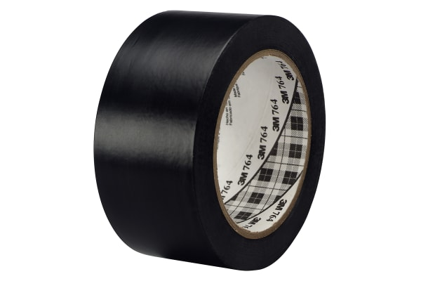 Product image for 3M 764 Black lane marking tape 50mm x 33