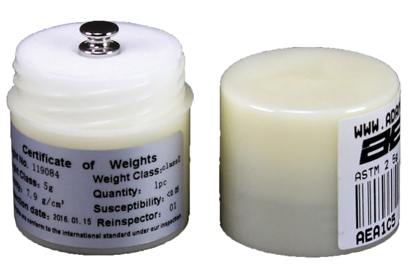 Product image for CHECK WEIGHT F1 STAINLESS 5G