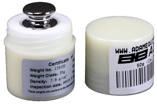 Product image for CHECK WEIGHT F1 STAINLESS 50G