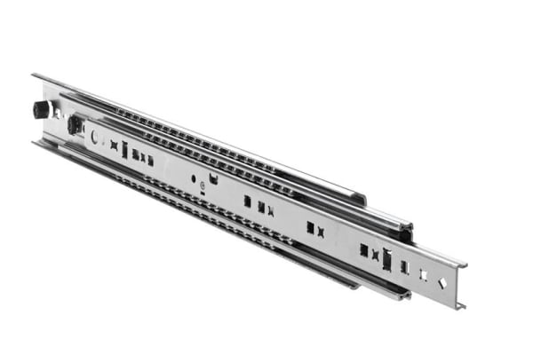 Product image for Accuride Steel Drawer Runner, 304.8mm Closed Length, 140kg Load