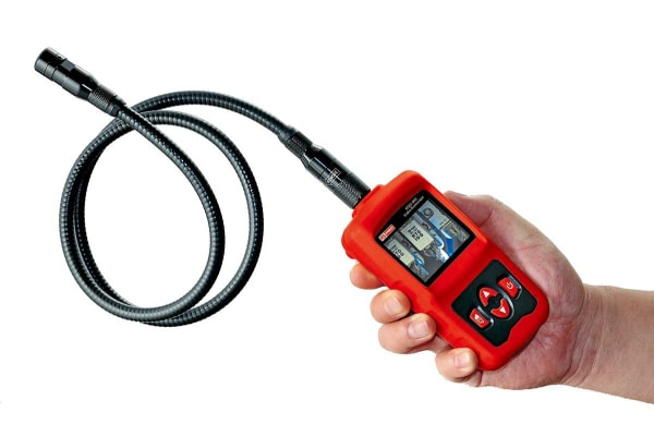 Product image for RS PRO Inspection Camera, 1m Probe Length, 480 x 234pixels Resolution, LED Illumination